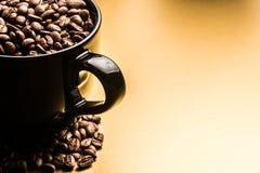 att komma för kaffe låter vara planterar ut fröstemen Arkivfoto