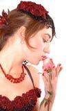 att kyssa steg Fotografering för Bildbyråer