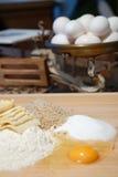 att laga mat förbereder sig Royaltyfria Bilder