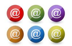 Att mail symbols Stock Photos