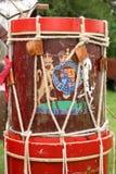 Att marschera trummar Arkivbilder