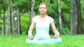 Att meditera in parkerar lager videofilmer