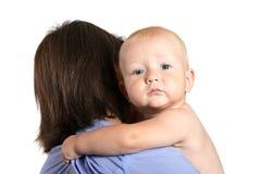 att rymma behandla som ett barn pojken Fotografering för Bildbyråer