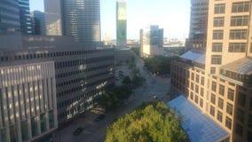 Att se utanför mötet var jag inbjuden till i Dallas Texas Fotografering för Bildbyråer