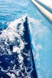 Att segla på seglar boaen fotografering för bildbyråer