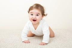 Att skratta behandla som ett barn pojken Royaltyfri Bild