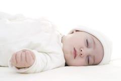 Att sova behandla som ett barn Royaltyfria Bilder