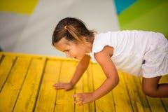 Att spela är en favorit- väg för barn` s av att lära royaltyfri foto