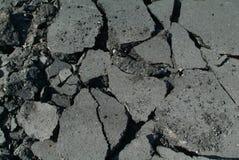 Att stenlägga fungerar på huvudvägen Arkivbild