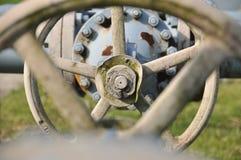 att torka gas, bransch, teknologi, gas, pump, knackar lätt på; ventel; ventil Royaltyfria Bilder
