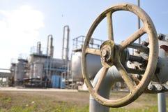 att torka gas, bransch, teknologi, gas, pump, knackar lätt på; ventel; ventil Royaltyfria Foton