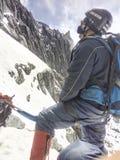 Att vänta som startar klättringen till Bolivaren, når en höjdpunkt royaltyfri bild