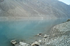 Attaabad o lago azul Imagens de Stock Royalty Free