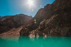 Attabad Lake Royalty Free Stock Photos
