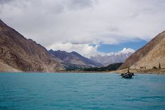 Attabad Lake Pakistan royalty free stock photography