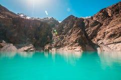Attabad sjö Royaltyfria Bilder