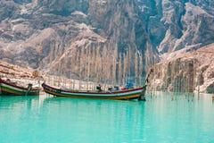 Attabad sjö Royaltyfri Foto