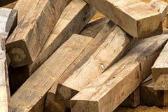 Attaccato del legno Fotografie Stock Libere da Diritti