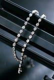 Attaccatura alla moda della collana Fotografia Stock Libera da Diritti