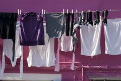 Attaccatura dei vestiti Immagini Stock Libere da Diritti
