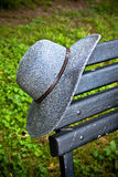 Attaccatura del mio cappello Immagini Stock Libere da Diritti