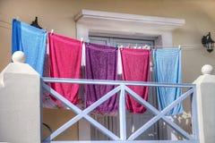 Attaccatura della lavanderia Fotografia Stock