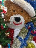Attaccatura delle decorazioni di Natale Fotografie Stock