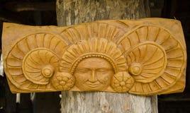 Attaccatura di parete di legno messicana Fotografia Stock Libera da Diritti