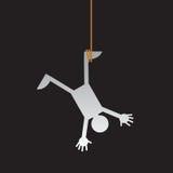 Attaccatura upside-down illustrazione di stock