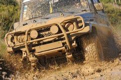 Attacchi la corsa di avventura 4X4 Fotografia Stock