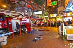 Attacco acido in Hong Kong Fotografia Stock