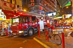 Attacco acido in Hong Kong Fotografia Stock Libera da Diritti
