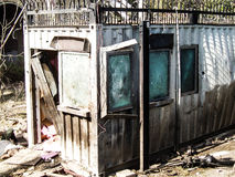 Attacco americano del consolato a Peshawar, Pakistan immagine stock libera da diritti