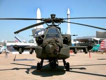 Attacco con elicottero Fotografia Stock