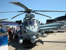 Attacco con elicottero Immagine Stock Libera da Diritti