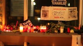 Attacco del terrorismo di Charlie Hebdo archivi video