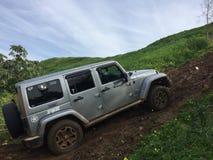 attacco della jeep Immagine Stock Libera da Diritti
