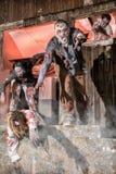 Attacco dello zombie Fotografie Stock