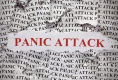Attacco di panico Immagine Stock
