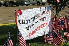 Attacco di terrore di Chattanooga fotografia stock libera da diritti