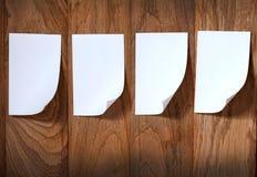 attach tła papieru fotografia drewniana obraz stock