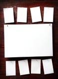 attach ubrań papierowa fotografii szpilek arkana obraz royalty free