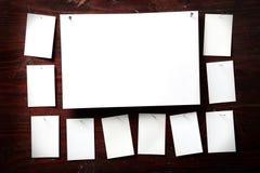 attach ubrań papierowa fotografii szpilek arkana zdjęcia royalty free