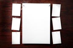 attach ubrań papierowa fotografii szpilek arkana fotografia stock
