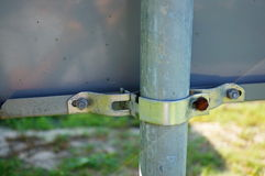 Attached pole Stock Image