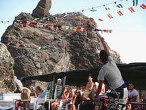 Attachez du ruban adhésif au festival d'été Photo stock