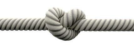 Attachez le noeud avec des boucles de mariage images stock