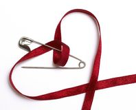 Attaching heart Royalty Free Stock Photography