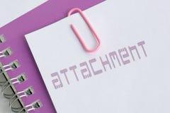Attachment Stock Photo