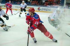 In attack  Andrei Stas №23 Stock Photos